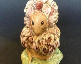 Beswick Beatrix Potter Thomasina Tittlemouse Figurine BP3b