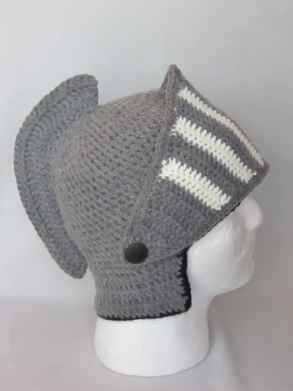 Crochet Viking/Trojan/Earflap Hat/ by MagicalStrings on Etsy