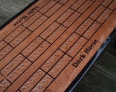 Personalize Your Cribbage Board Table from The Right Jack, CUSTOM ADD ON, Personalized Option for Cribbage Table