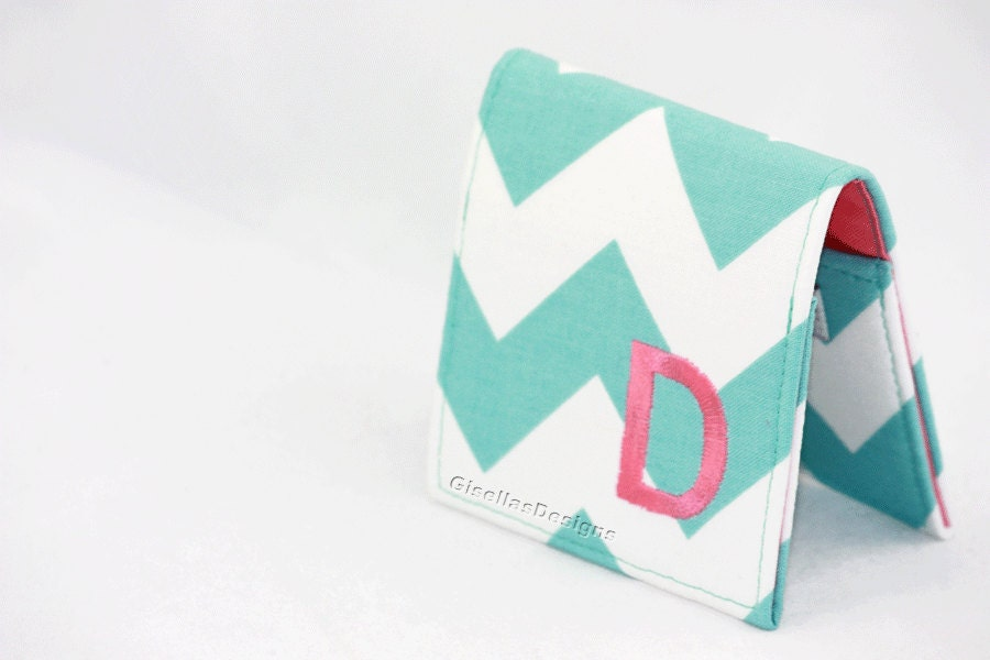 Personalized square business card holder teal business card for Custom square business cards