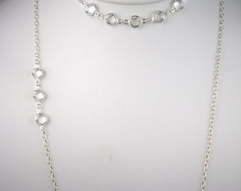 Long Necklace - Crystal Stations