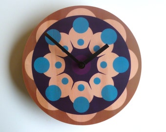 Objectify Futurist 3 Wall Clock