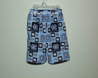 Shorts with Pockets-made from UNC fabric