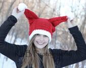 Penny's Santa Hat - Crochet PDF Pattern, Instant Download