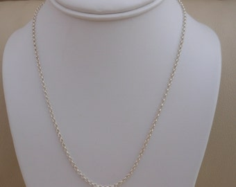 18inch Sterling Silver Chain