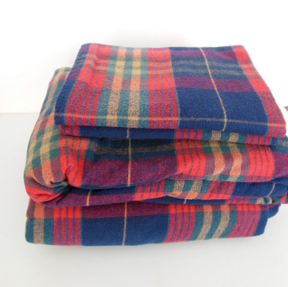 queen flannel sheets plaid flannel fitted flat pillow case 4. Black Bedroom Furniture Sets. Home Design Ideas