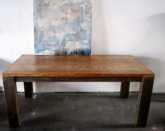 Beautiful Wood Dining Table.Made in Los Angeles