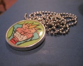 Calvin and Hobbes: Angry pendant