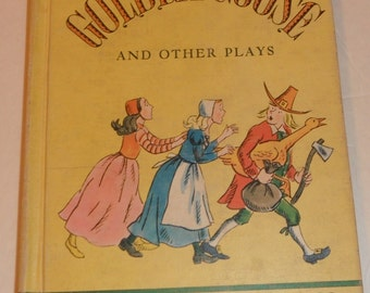 The Golden Goose and Other Plays by Fan Kissen HB Vintage Book