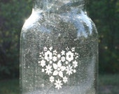 Heart Flower Vase Jar