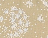 Tone on Tone - White Teastain Dandelions from Santee