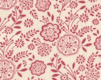 La Belle Fleur - Floral Rose Pink by French General by Mioda