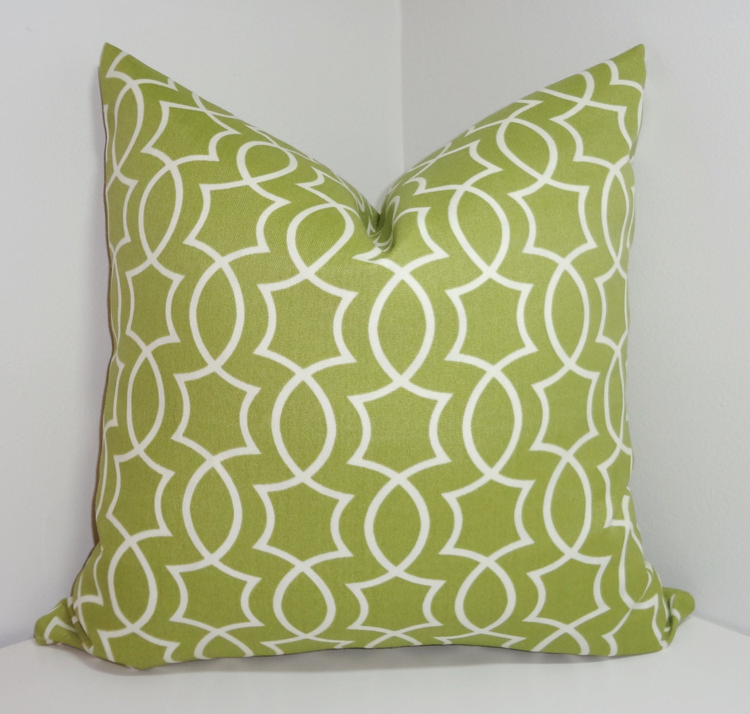 OUTDOOR Apple Green Geometric Pillow Cover Cushion Covers