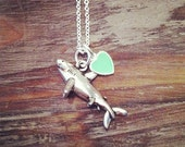 SHARK WEEK necklace (choose your own charm)