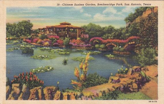 Chinese Sunken Garden Breckenridge Park San Antonio Tx