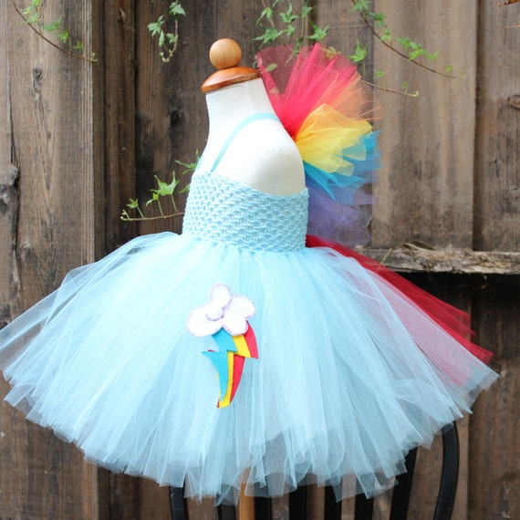 rainbow dash costume rainbow dash dress my little pony. Black Bedroom Furniture Sets. Home Design Ideas