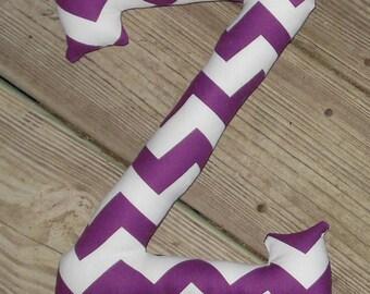 "ZETA Greek Letter custom fabric Pillows approx. 9""Wx12""H Custom"