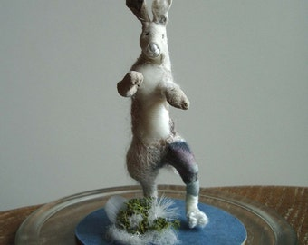 Winter Hare **RESERVED, not for sale**