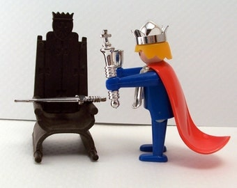 Playmobil King and Throne