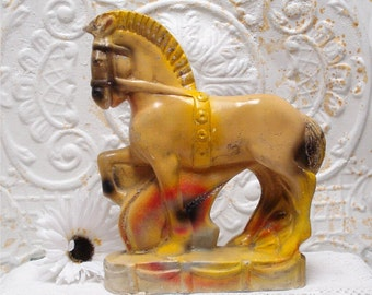 Large Horse Chalkware Carnival Prize
