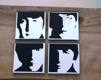 The Beatles  coasters / Sous verres The Beatles