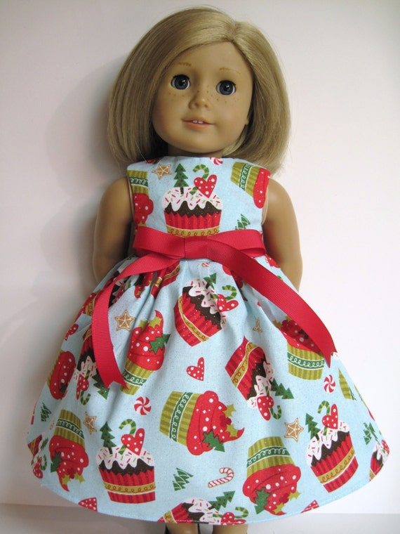 sale christmas dress for american girl doll. Black Bedroom Furniture Sets. Home Design Ideas