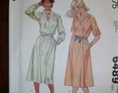 Vintage McCall's Dress Pattern 6489