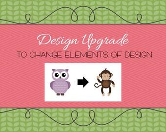 Design Upgrade - Element Change