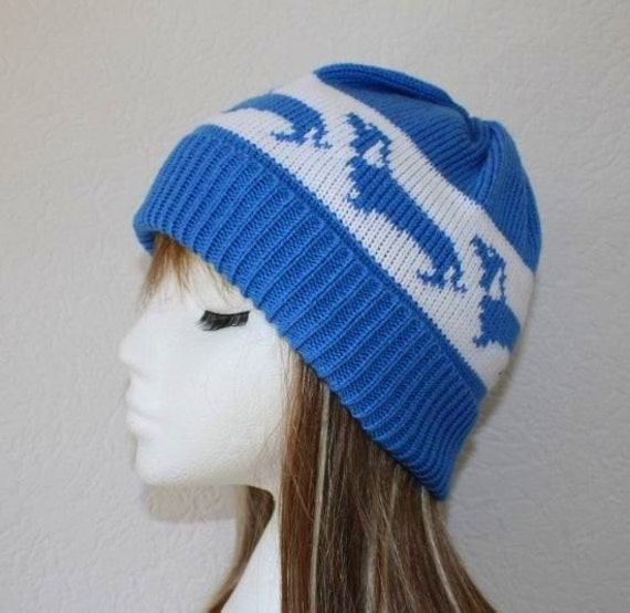 Beanie Hat with Dachshunds Dogs in a choice of colours