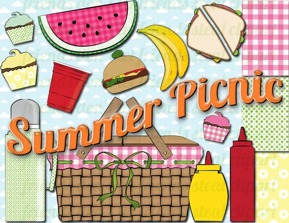 spring picnic clipart - photo #14