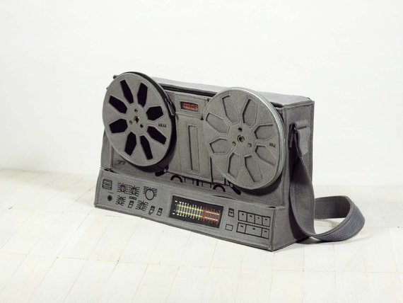 Reel-to-Reel Bag AKAI - 77 Music Lover Geek Felt Bag