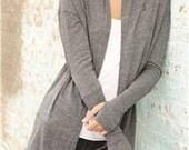 Alternative - Ladies' Eco-Jersey Thumbs Up Wrap Sweater with Rabbit Logo