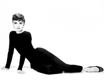 Cross Stitch Pattern - Audrey Hepburn 1 -  PDF - Instant Digital Download