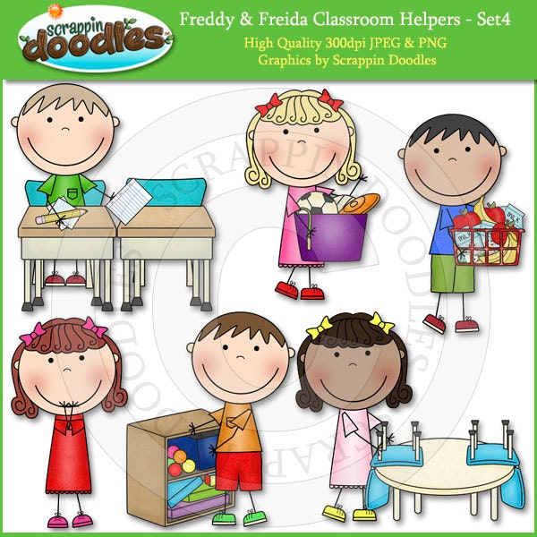 kindergarten clipart classroom jobs - photo #27