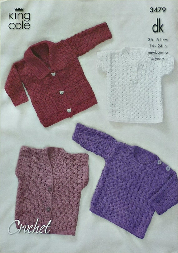 Crochet Patterns King Cole : Baby Crochet Pattern C3479 Crochet Pattern by KnittingPatterns4U