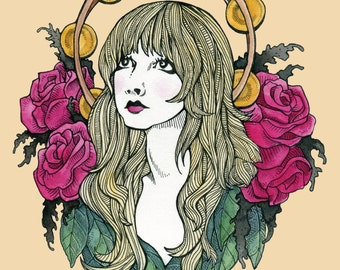 Stevie Nicks // 8.5x11 print