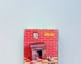 Vintage Die Cast Metal Desk Pencil Sharpener 1970s NIB