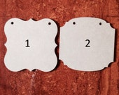 """Sign Blanks choose your style 5"""" x 5"""" set of 10"""