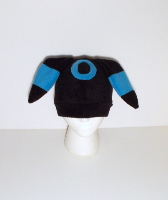 Pokemon Fleece Shiny Umbreon Hat