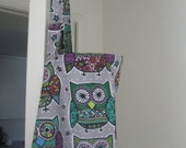 Breastfeeding nursing cover like hooter under groovy owls paisly owls   style more fabric in my store