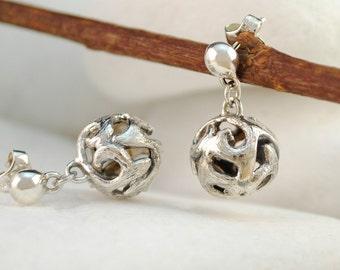 Byzantine Sterling Silver Dangle Earrings