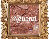 Neutral 3g Pigmented Mineral Eye Shadow Jar with Sifter