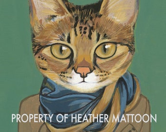 Savannah - Matte Print - From Painting by Heather Mattoon