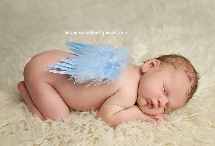 Images of Baby Boy Angels Baby Boy Angel Wings Blue