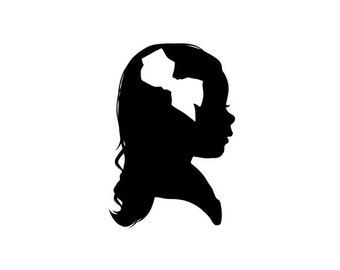 Digital Custom Silhouette Portrait
