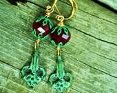 Burke and Hare's gravely strange earrings