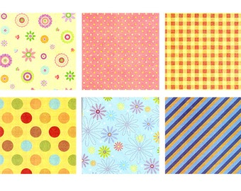 Pattern Stickers I - 6 Sheets