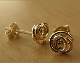 earrings 14k gold filled earstuds