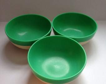 Raffiaware Cereal Bowl Thermo-Temp 3 Bowls