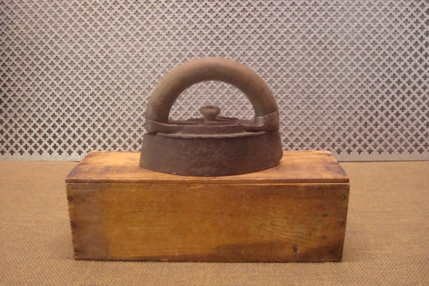 Antique Cast Iron SAD IRON - Vintage Virginia City ...